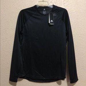 Adidas D2M Longsleeve Climalite t-Shirt